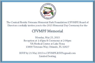 CFVMPF Memorial